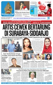 Cover Surabaya Pagi 26 September 2018