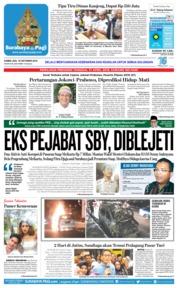 Cover Surabaya Pagi 18 Oktober 2018
