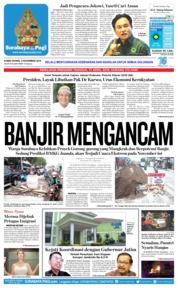 Cover Surabaya Pagi 08 November 2018