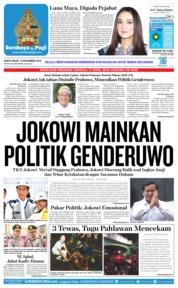 Cover Surabaya Pagi 10 November 2018