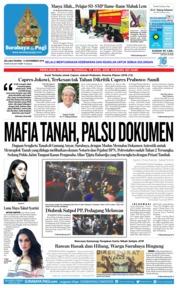 Cover Surabaya Pagi 13 November 2018