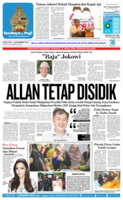 Cover Surabaya Pagi 14 November 2018