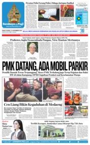Cover Surabaya Pagi 21 November 2018