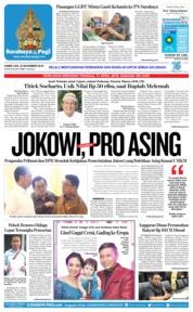 Surabaya Pagi Cover 22 November 2018