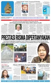 Cover Surabaya Pagi 10 Desember 2018