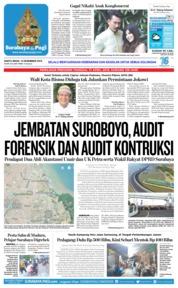 Cover Surabaya Pagi 15 Desember 2018