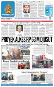 Cover Surabaya Pagi 17 Desember 2018
