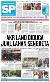 Cover Surabaya Pagi 17 Januari 2019