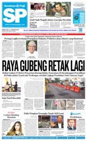 Cover Surabaya Pagi 21 Januari 2019