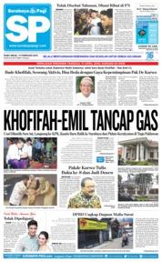 Cover Surabaya Pagi 13 Februari 2019