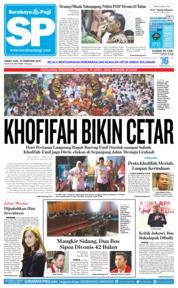 Cover Surabaya Pagi 15 Februari 2019