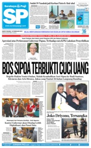 Cover Surabaya Pagi 16 Februari 2019