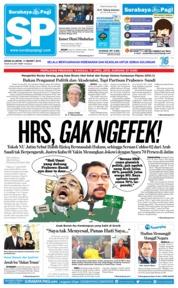 Cover Surabaya Pagi 11 Maret 2019