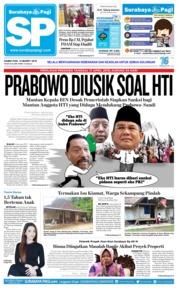 Cover Surabaya Pagi 14 Maret 2019