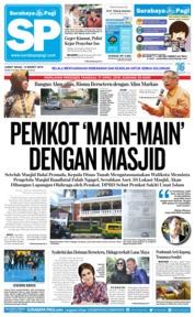 Cover Surabaya Pagi 15 Maret 2019