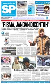 Cover Surabaya Pagi 16 Maret 2019