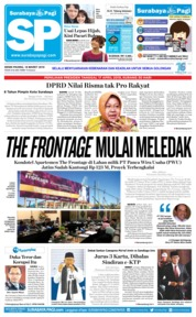 Cover Surabaya Pagi 18 Maret 2019