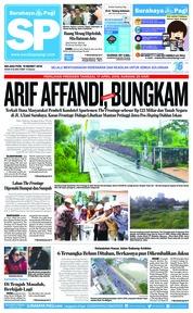 Cover Surabaya Pagi 19 Maret 2019