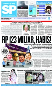 Surabaya Pagi Cover 20 March 2019