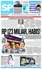 Cover Surabaya Pagi 20 Maret 2019