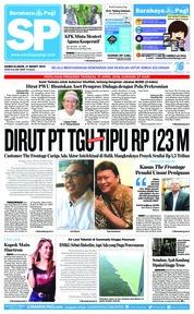 Cover Surabaya Pagi 21 Maret 2019