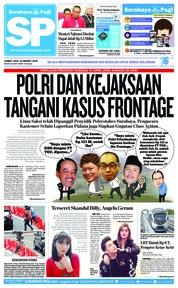 Cover Surabaya Pagi 22 Maret 2019