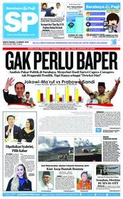 Cover Surabaya Pagi 23 Maret 2019