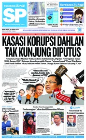 Surabaya Pagi Cover 25 March 2019