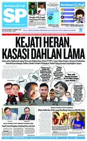 Cover Surabaya Pagi 26 Maret 2019