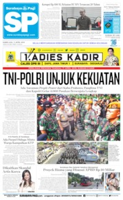 Cover Surabaya Pagi 11 April 2019