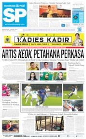 Cover Surabaya Pagi 13 April 2019