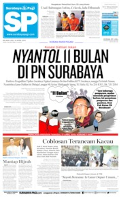 Cover Surabaya Pagi 16 April 2019