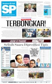 Surabaya Pagi Cover 17 April 2019