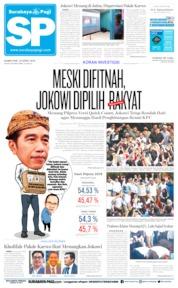 Cover Surabaya Pagi 18 April 2019