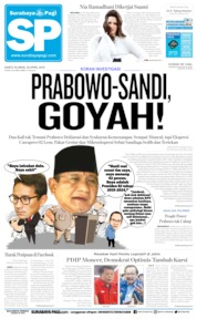 Cover Surabaya Pagi 20 April 2019