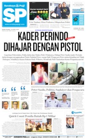 Surabaya Pagi Cover 22 April 2019