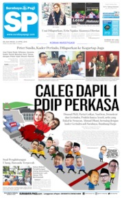 Surabaya Pagi Cover 23 April 2019
