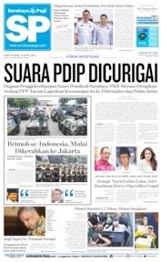 Surabaya Pagi Cover 24 April 2019
