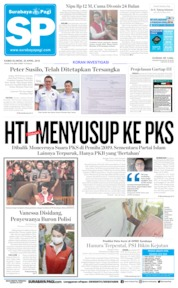 Cover Surabaya Pagi 25 April 2019