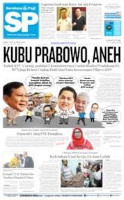 Cover Surabaya Pagi 26 April 2019