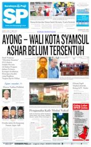 Cover Surabaya Pagi 11 Mei 2019