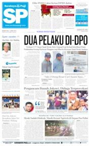 Cover Surabaya Pagi 13 Mei 2019