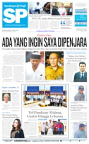Cover Surabaya Pagi 14 Mei 2019