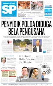 Cover Surabaya Pagi 15 Mei 2019