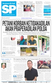 Cover Surabaya Pagi 16 Mei 2019