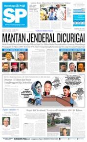 Cover Surabaya Pagi 25 Mei 2019