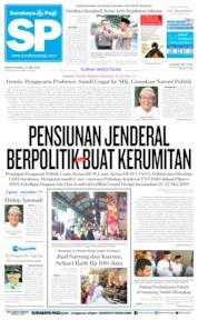 Surabaya Pagi Cover 27 May 2019