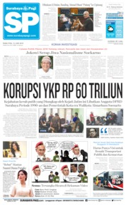 Cover Surabaya Pagi 12 Juni 2019