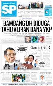 Cover Surabaya Pagi 22 Juni 2019