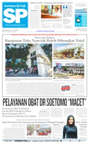 Surabaya Pagi Cover 26 June 2019
